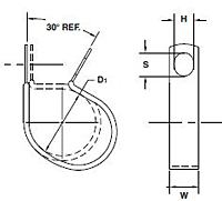 COV Wiring and Tube Clamps-Schematic